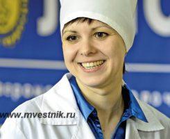 Технолог Североморского молочного завода Неустроева Анна