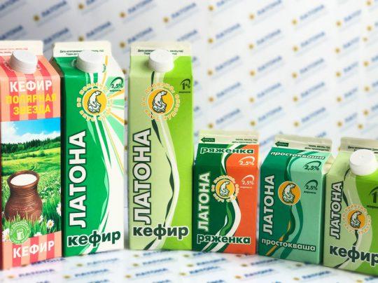 АО «Молочный завод» Кисломолочные продукты «Латона»