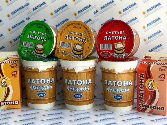АО «Молочный завод» Сметана